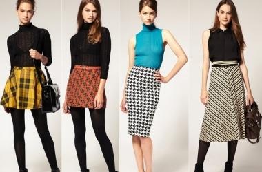 Мода 2013: с чем носить юбку?