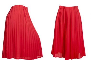 Модный тренд - юбка плиссе. С чем носить юбку плиссе? (ФОТО)