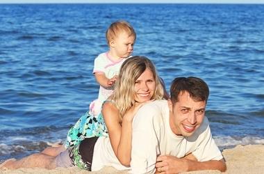 Отдых с ребенком: опасность солнца