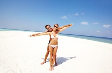 Худеем и отдыхаем: зарядка на пляже