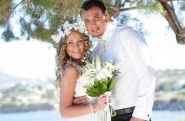 Свадьба мечты-2012: победители на острове Крит! (ФОТО)