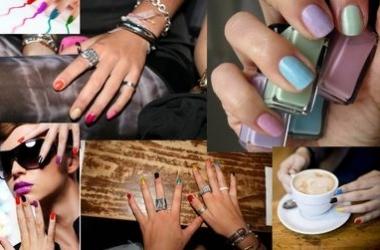 Тренд 2012 - разноцветный маникюр (ФОТО)