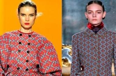 Осень 2012: модные цвета, силуэты, стили (ФОТО)