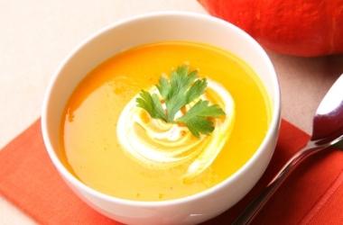 Полезная еда: тыквенный суп-пюре
