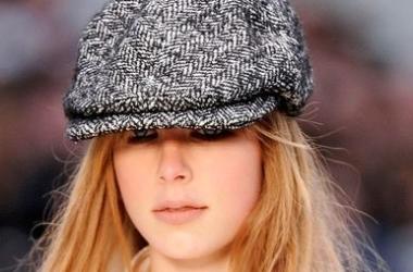 Мода осень 2012: шапки, шляпы, кепки (фото)
