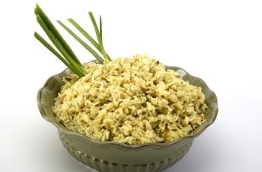 Вегетарианское меню: соевый плов (рецепт)