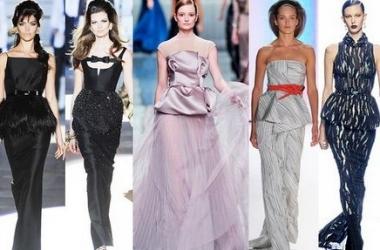 Осень-зима 2012-2013: самые модные вечерние платья (ФОТО)