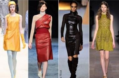 Модные платья осень-зима 2012-2013