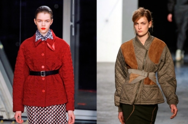 Хит сезона осень-зима 2012-2013 - стеганые куртки (ФОТО)