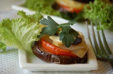 Рецепт баклажаны с сыром