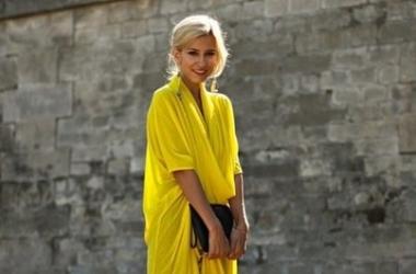 Тренд осени-2012 - яркий желтый! (ФОТО)