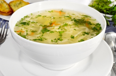 Рецепт овощного супа с тефтелями