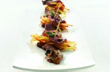 Рецепт свиной корейки с испанскими оливками: блюдо для мужчин!