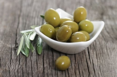 Новогодние блюда с оливками