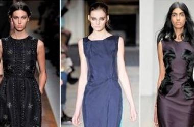 Модные платья осень-зима - 2012-2013 (ФОТО)