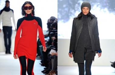 Модные идеи для зимы 2012-2013:  стиль Sport chic (фото)