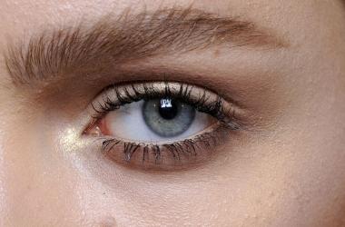 Коричневый макияж на Новый год: мастер класс (фото)