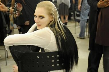 Модный цвет волос 2013: градиент (фото)
