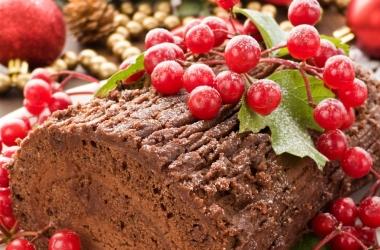 Рождественский десерт: французкое