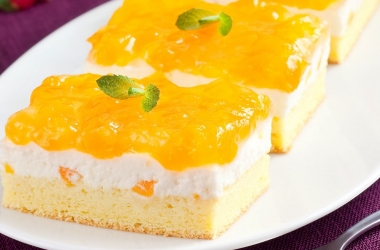 Лучшие десерты: бисквитные пирожные (рецепт)
