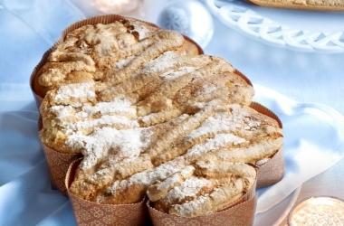 Праздничный десерт: сдобная елочка с курагой. Рецепт