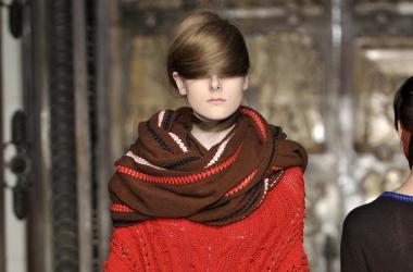 Мода осень 2013: каким должен быть шарф