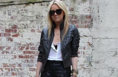 Мода весна 2014: с чем носить кожаную куртку-косуху? (фото)