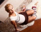 Мода 2013: с чем носить гетры (фото)