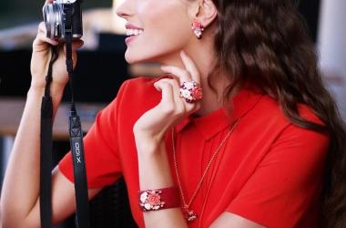 Кольцо-букет, браслет с кораллом и серьги-шандельеры от Style Avenue (фото)