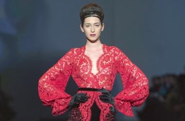 Смелая коллекция: Julia Aysina на Ukrainian Fashion Week-2013