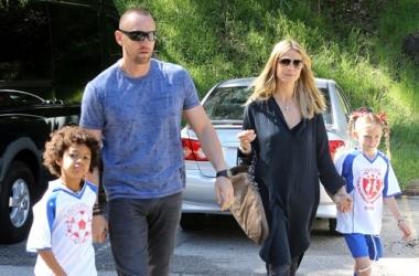 Хайди Клум с бойфрендом развлекла своих детей (фото)