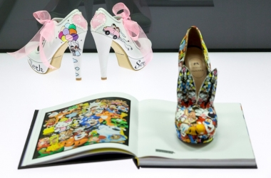 Выставка 'сумасшедшей' обуви открылась в Лейпциге (фото)