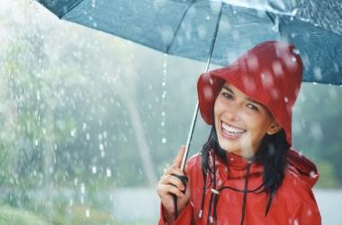 Как не простудиться в дождь?