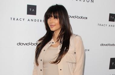 Беременная Ким Кардашян наконец отказалась от каблуков и макияжа (фото)