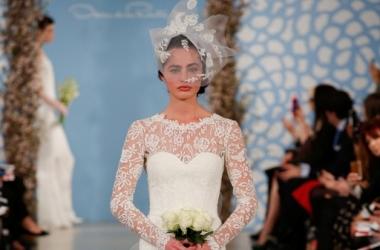 Модные свадебные платья: коллекция Oscar de la Renta (фото)