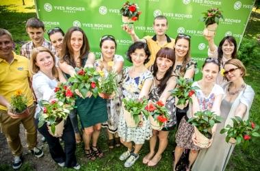 Фонд Ив Роше высаживает деревья в Украине (фото)