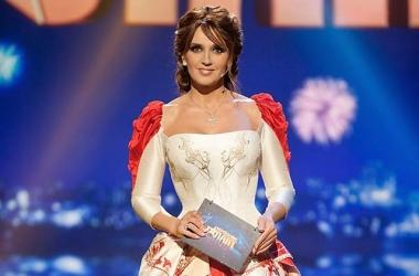 Стиль звезды: Оксана Марченко стала Золушкой (фото)