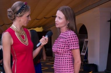 Стиль звезды: Катя Осадчая в суперкоротком платье (фото)