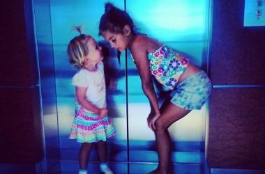Анна Седокова показала своих дочерей (фото)