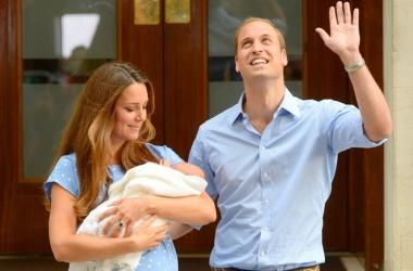 Принц Уильям поблагодарил небо за сына (фото)