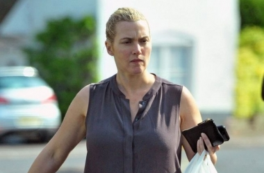 Беременная Кейт Уинслет отказалась от макияжа (фото)