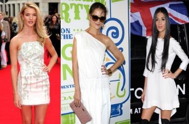 Как носить маленькое белое платье: урок от звезд (фото)