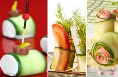 Огуречные роллы: 3 идеи легких летних закусок (фото)