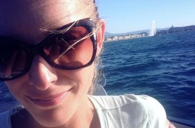 Катя Осадчая показала, как отдыхает на Женевском озере (фото)