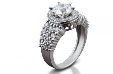 Белое золото и бриллианты: элегантная роскошь от ювелирного завода «Золотой Век»