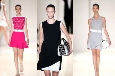 Мода весна-лето 2014: лаконичная коллекция Виктории Бекхэм (фото)