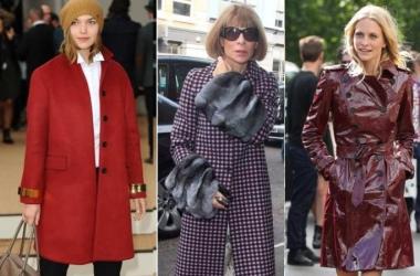 Модные плащи осень 2013: пример показали модницы Лондона (фото)