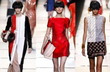 Неделя моды в Милане: красная коллекция от Fendi (фото)