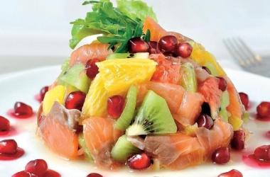 Тартар из лосося с киви: оригинальный рецепт закуски