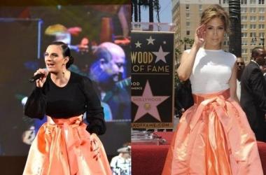 Битва модниц: Дженнифер Лопес против Елены Ваенги (фото)